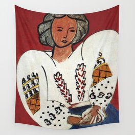 Henri Matisse - The Romanian Blouse - Exhibition Poster Wall Tapestry
