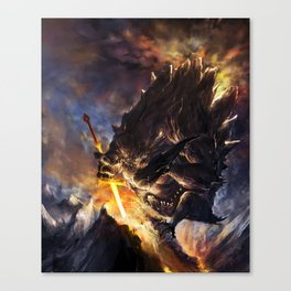 GOD of the FORGE Canvas Print