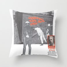 For What It's Worth Throw Pillow