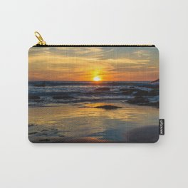Sunset on Whipsiderry Beach Carry-All Pouch
