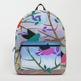 Birds On Branches Backpack