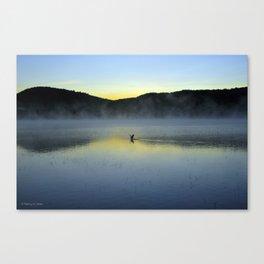 Perfect Landing (Sunrise, Lake George) Canvas Print