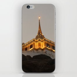 Wat Saket - Bangkok's Golden Mount iPhone Skin
