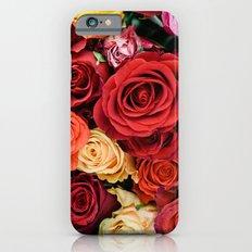 Roses iPhone 6s Slim Case