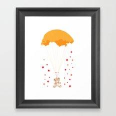 Landing Bear Framed Art Print