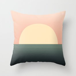 Sunrise / Sunset Abstract Gradient IV Throw Pillow