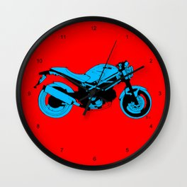 Ducati Monster 695d LOST TIME Wall Clock