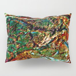 Emerald Impressions Abstract Pillow Sham