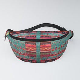 Anthropologie Ortiental Traditional Moroccan Style Artwork Fanny Pack