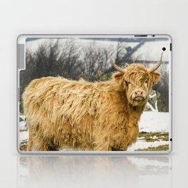 The Highland Cow Laptop & iPad Skin