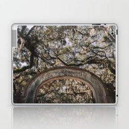 Wormsloe Historic Site - Savannah, Georgia Laptop & iPad Skin