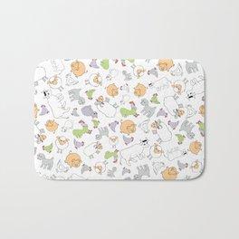 The Little Farm Animals Bath Mat