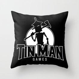 Tin Man Games logo Throw Pillow