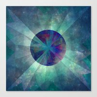 twilight Canvas Prints featuring Twilight  by SensualPatterns
