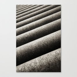 Rusted Rollers Canvas Print