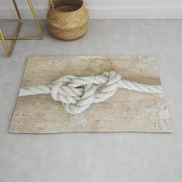 Knot on driftwood Rug