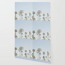California Palm Trees II Wallpaper