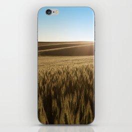 Palouse Sunset Photography Print iPhone Skin