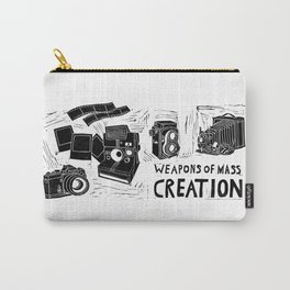Weapons Of Mass Creation - Photography (blockprint) Carry-All Pouch