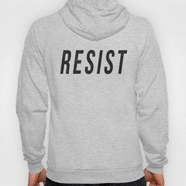 RESIST 1.0 - Black on Teal #resistance Hoody