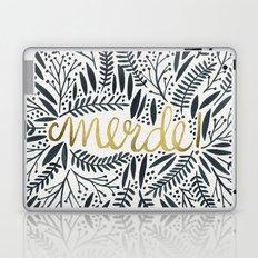 Pardon My French – Black & Gold Laptop & iPad Skin