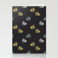 ships Stationery Cards featuring Clipper ships by Akwaflorell