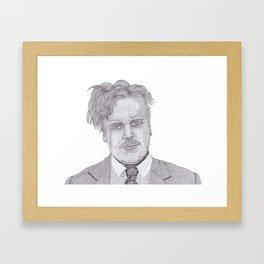 Chesterton Framed Art Print