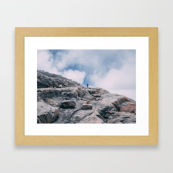 And up we go Framed Art Print