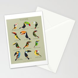 Toucans by Lili Chin Stationery Cards