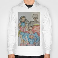dc Hoodies featuring DC: Trinity by aka-noodle