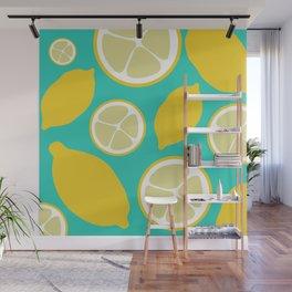 Sweet Lemon Lime Wall Mural