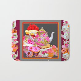 AFTERNOON TEA PARTY  & PASTRY  DESSERTS Bath Mat