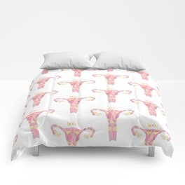 Royal Uterus Pattern Comforters
