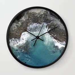 Grey River Wall Clock