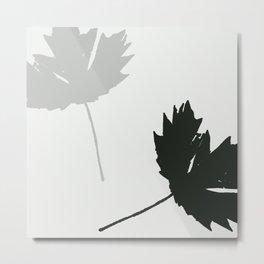 Modern Leaf Metal Print
