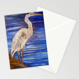 Blue Heron Stationery Cards