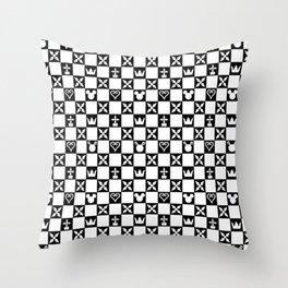 Kingdom Hearts pattern Throw Pillow