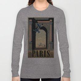 Vintage poster - Paris Long Sleeve T-shirt