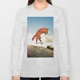 Skateboard FOX! Long Sleeve T-shirt