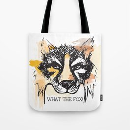 What the Fox Tote Bag