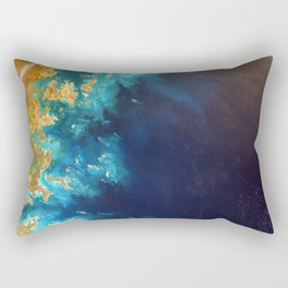 Ocean from above Rectangular Pillow
