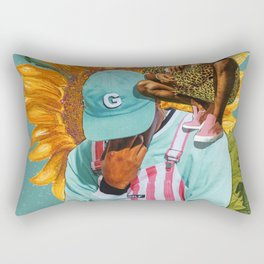 Tyler, Flower Boy Rectangular Pillow