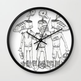 Consumerism Wall Clock