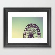 Let's go for a ride Framed Art Print