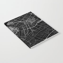 Shanghai Black Map Notebook