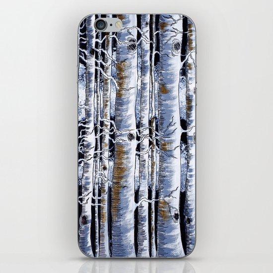 Birch Slap iPhone & iPod Skin