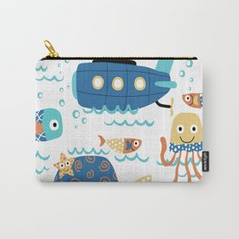 Nautical Life Carry-All Pouch