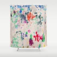 monet Shower Curtains featuring Monet Day by Ryan van Gogh