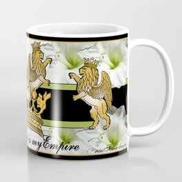 My Empire Collection Summer Set White Flowers Coffee Mug