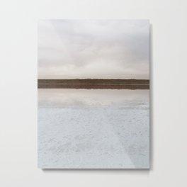 Minimal landscape firth Metal Print